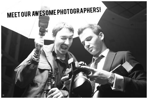 Meet our awesome photographers!